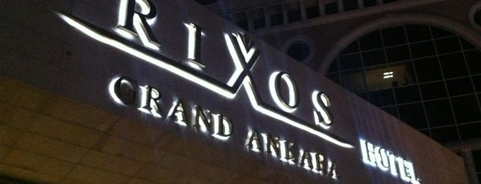 Rixos Grand Ankara is one of Ankara.