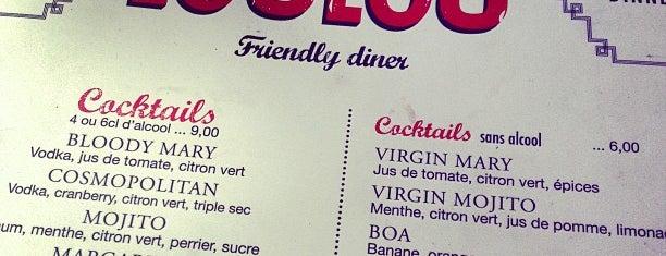 Loulou' Friendly Diner is one of Douceurs de Paris.