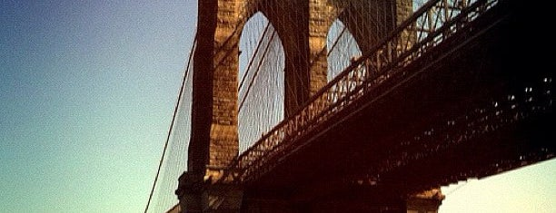 Brooklyn Bridge is one of Architecture - Great architectural experiences NYC.