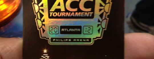 ACC Mens Basketball Tournament is one of Gary's List.