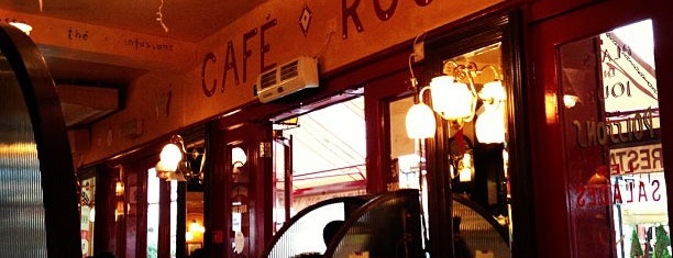 Café Rouge is one of Prive.
