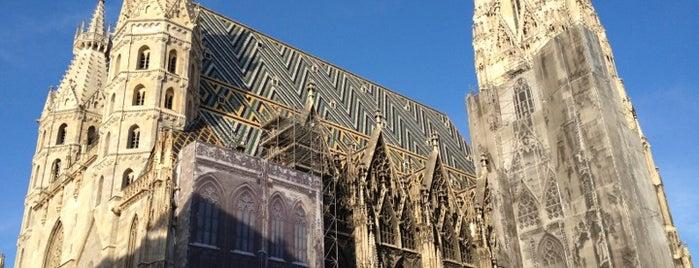 Stephansdom is one of StorefrontSticker #4sqCities: Vienna.