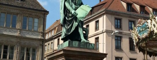 Place Gutenberg is one of Strasbourg for Chris.