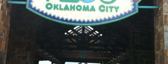 The Oklahoma City Zoo is one of Oklahoma City.