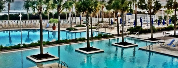 Myrtle Beach Marriott Resort & Spa at Grande Dunes is one of Places 2 visit.