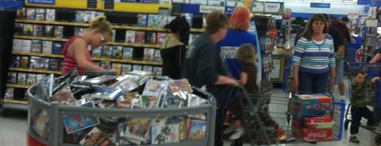 Walmart Supercenter is one of Places I shop.