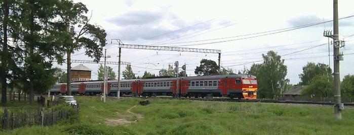 Станция Лютово is one of Транссибирская магистраль.