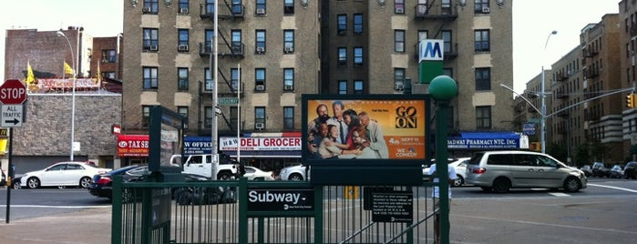 """MTA Subway - Dyckman St (A) is one of """"Be Robin Hood #121212 Concert"""" @ New York!."""