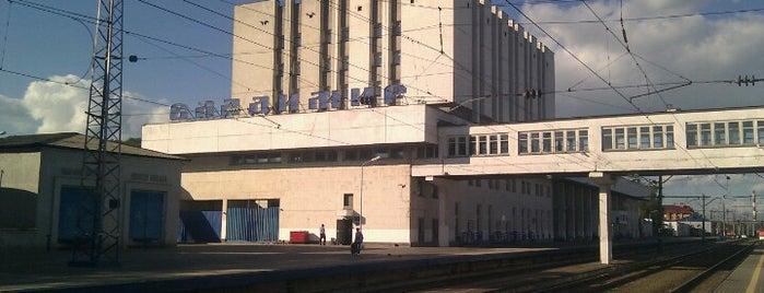 Vladimir Railway Station is one of Транссибирская магистраль.