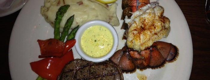 The Keg Steakhouse & Bar is one of favs.