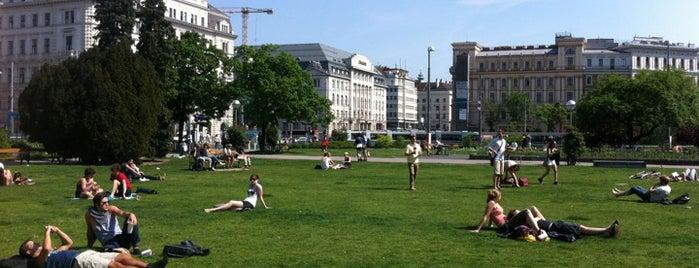 Sigmund Freud Park - Votivpark is one of StorefrontSticker #4sqCities: Vienna.