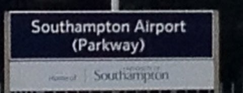 Southampton Airport Parkway Railway Station (SOA) is one of My favourite railway stations.