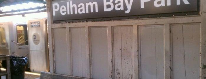 MTA Subway - Pelham Bay Park (6) is one of NYC Subways 4/5/6.