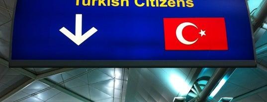 Dış Hatlar Geliş Terminali is one of 34.