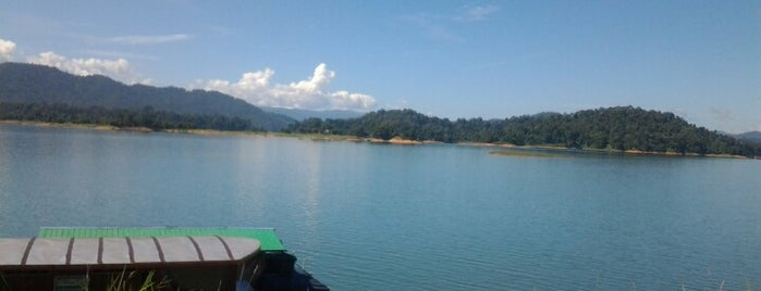 Tasik Kenyir is one of @Hulu Terengganu.