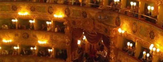 Teatro La Fenice is one of Venice.