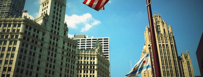 The Wrigley Building is one of Chicago.