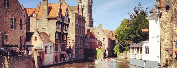 Bruges is one of UNESCO World Heritage Sites.