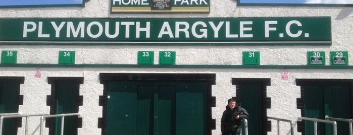 Home Park is one of Venues....