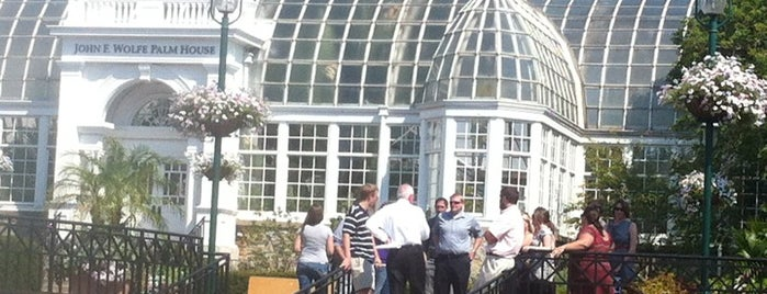 Franklin Park Conservatory and Botanical Gardens is one of The Buckeye Bucket List.