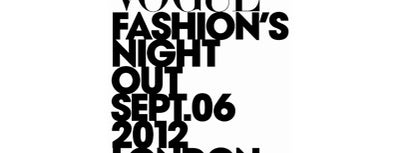VOGUE Fashion's Night Out at HUGO BOSS