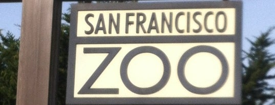 San Francisco Zoo is one of SF + Play.