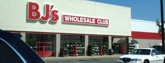 BJ's Wholesale Club is one of just a list of places.