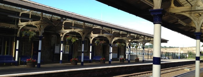 Hexham Railway Station (HEX) is one of Railway stations visited.