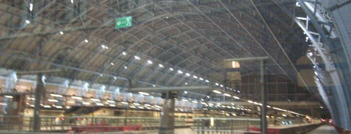 "London St Pancras International Railway Station (STP) is one of Foursquare needs a ""Subway Hero Badge""."