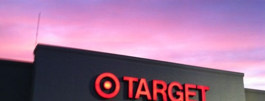 Target is one of just a list of places.