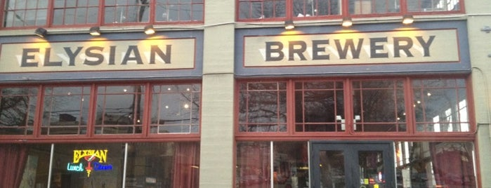 Elysian Brewing Company is one of Happy Hour in Seattle.