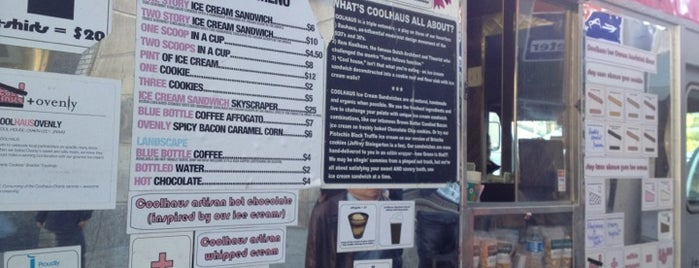 Coolhaus Ice Cream Truck is one of NYC Food on Wheels.