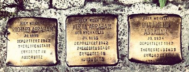 richard & herta & ruth nelly abraham is one of Stolpersteine 1933 - 1945.