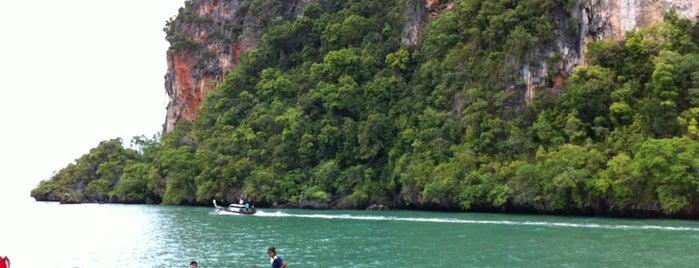 Railay Beach West is one of Krabi.