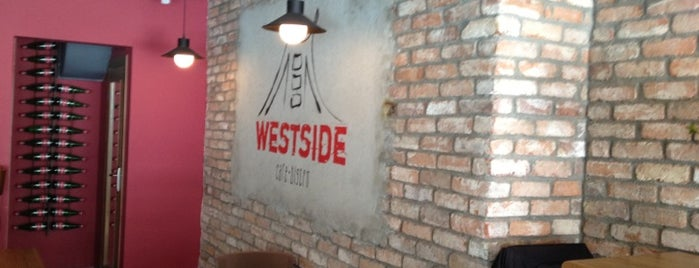 Westside Cafe Bistro is one of burger and pizza.