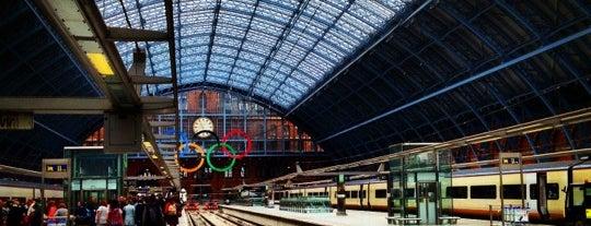 Estación de St. Pancras (STP) is one of London.