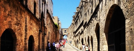 Street of the Knights is one of Explore Rhodes.