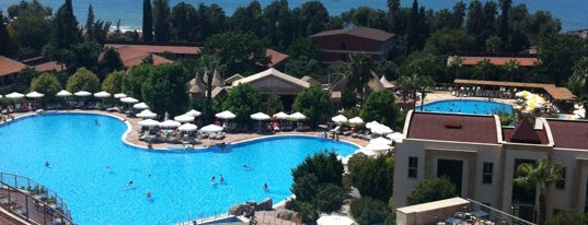 Horus Paradise Luxury Resort is one of Turkiye Hotels.