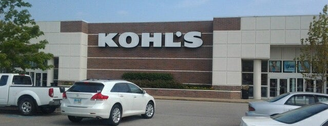 Kohl's is one of Places tried: recommend.