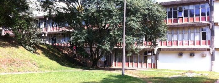 Faculdade de Filosofia, Letras e Ciências Humanas (FFLCH-USP) is one of Universidade.