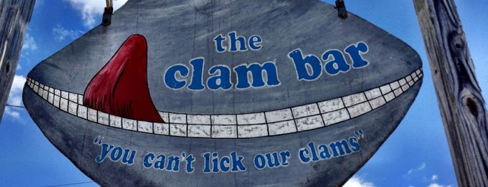 Smitty's Clam Bar is one of OCNJ.