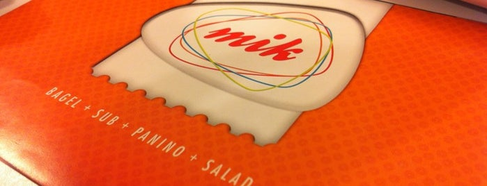 Mik is one of 20 favorite restaurants.
