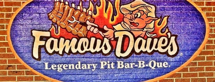 Famous Dave's is one of The 15 Best Places for Barbecue in Minneapolis.