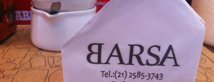 Barsa is one of Lugares Cariocas.