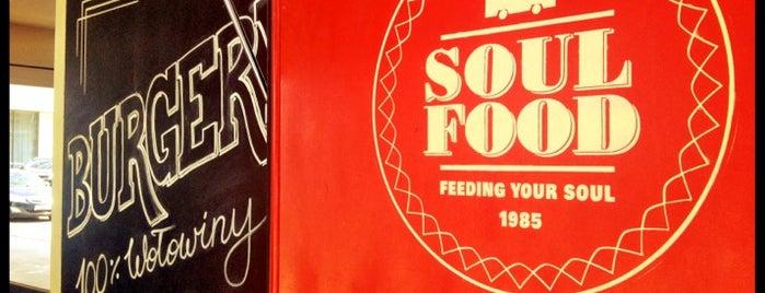 Soul Food Bus is one of Top 10 dinner spots in Warszawa, Polska.