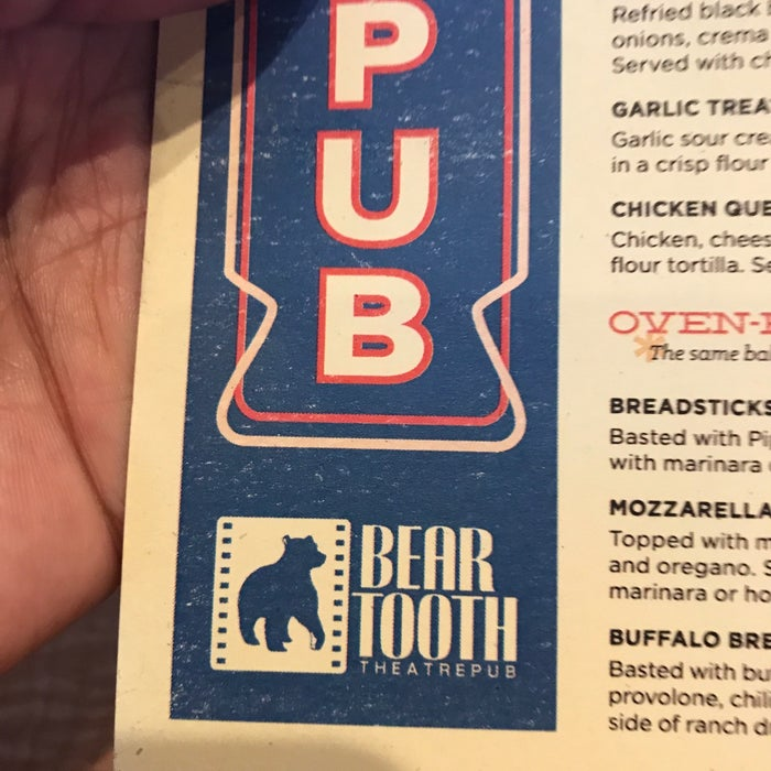 Photo of Bear Tooth Theatrepub Cafe & Grill