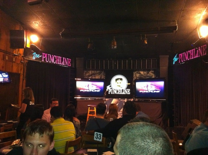 The Punchline Comedy Club At Hilderbrand Dr Roswell Rd - Punchliner comedy club