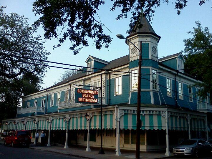 Commander S Restaurant New Orleans Louisiana