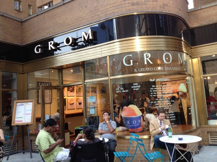 nespresso soho grom at 1796 broadway at w 58th st new york ny the daily meal