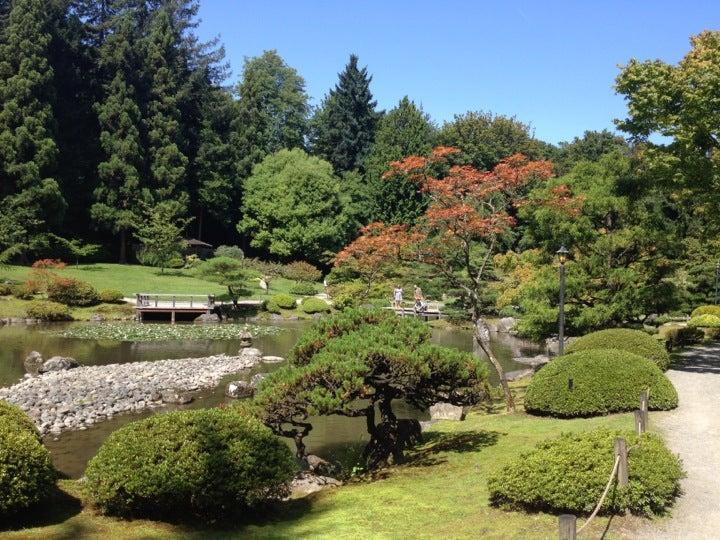 Japanese Gardens (Seattle Japanese Garden) At 1075 Lake Washington Blvd E  Seattle, WA